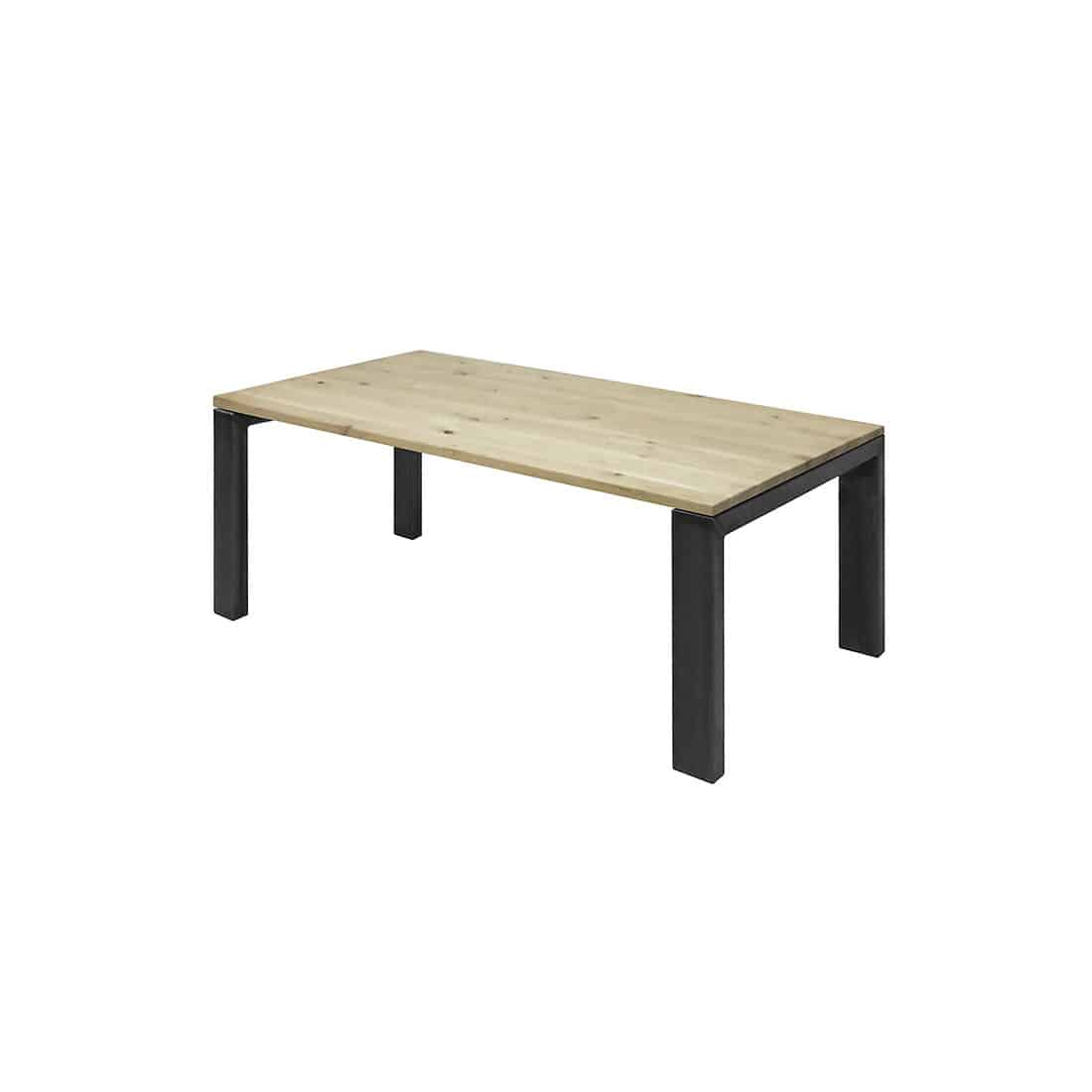 Eikenhouten tafel Baskin