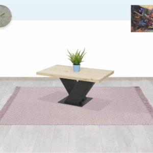 Eikenhouten salontafel Floris