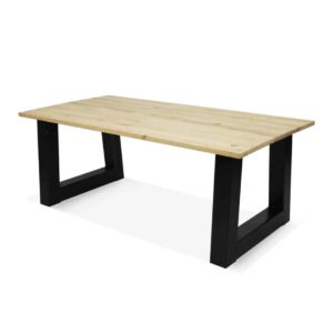 industriële eikenhouten tafel Bitely