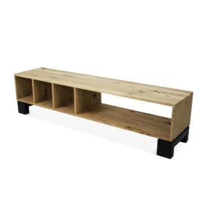 industriële eikenhouten tv meubel Amerit