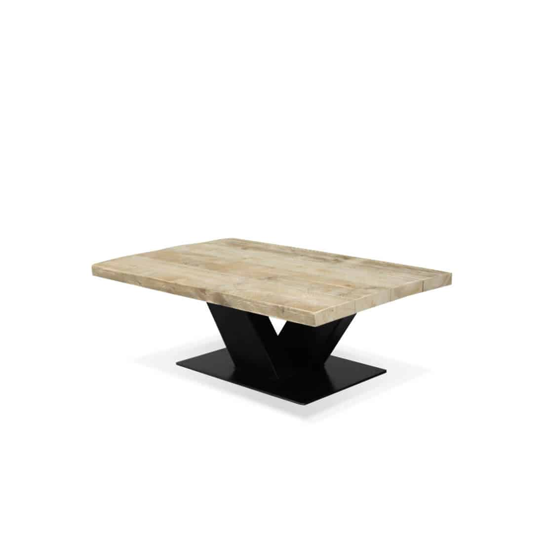 industriële steigerhouten salontafel Corder