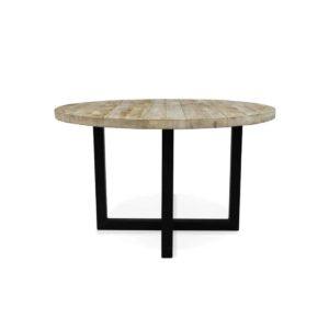 Industriële steigerhouten tafel Paola