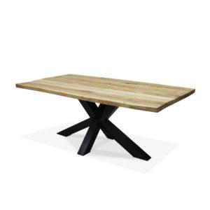 Industriële eikenhouten meubelen