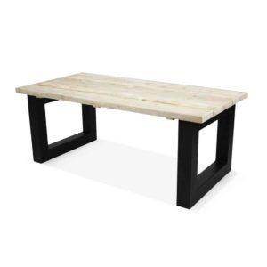 Industriële steigerhouten tafel Otley