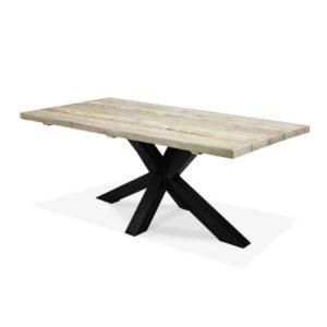 Industriële steigerhouten tafel Taopi