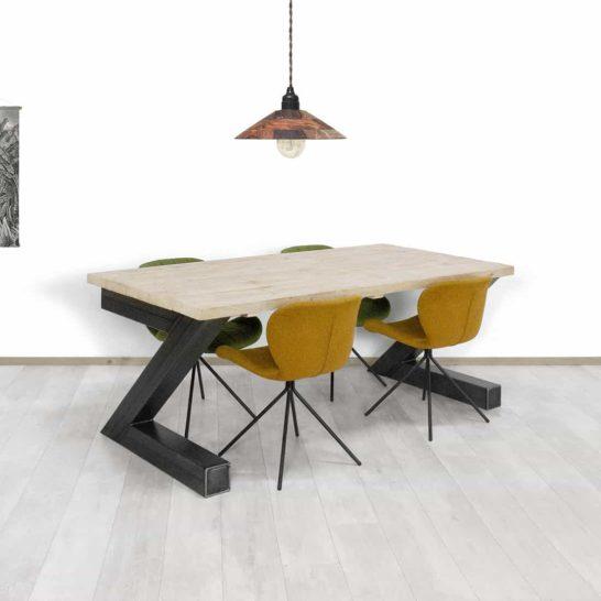 Steigerhouten tafel Laconia