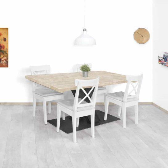 Steigerhouten tafel Browns