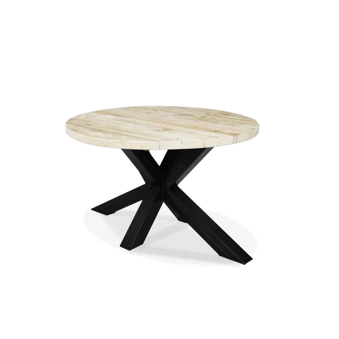 Industriële steigerhouten tafel Rigby
