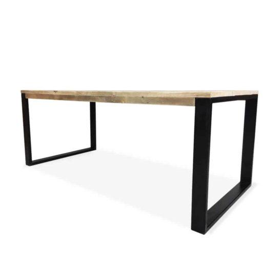 Industriële steigerhouten tafel Spicer