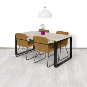 Steigerhouten tafel Spicer