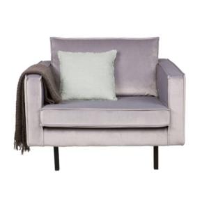 Be Pure Home Rodeo fauteuil 1,5 zit - velvet grijs