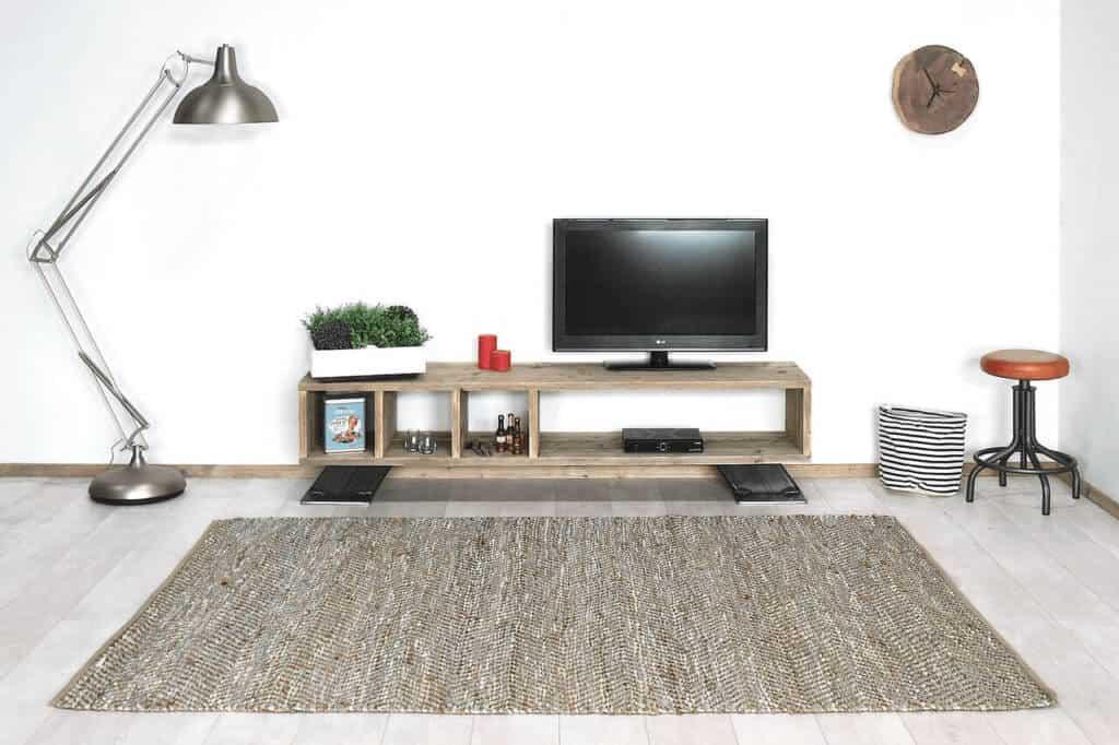 Tv Kast Steigerhout : Steigerhouten tv meubel ariton industriëlemeubelshop