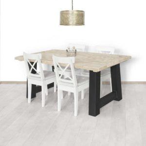 Steigerhouten tafel Amma