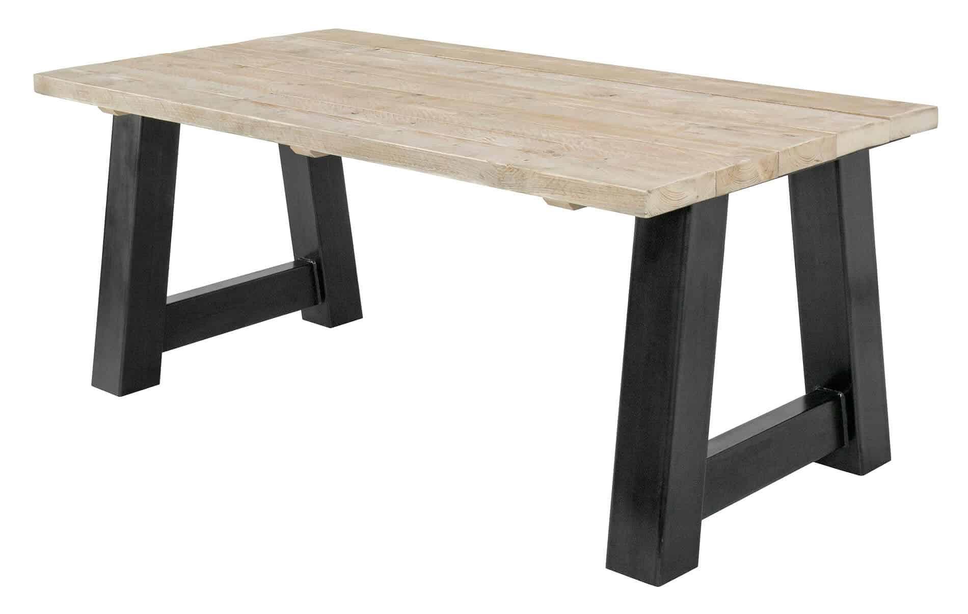 Tafel Steigerhout Tekening : Steigerhouten tafel amma industriëlemeubelshop