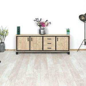 Steigerhouten TV meubel Huddy