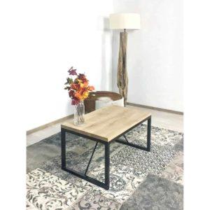 Eikenhouten salontafel Ceiba