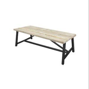 Steigerhouten tafel Omak