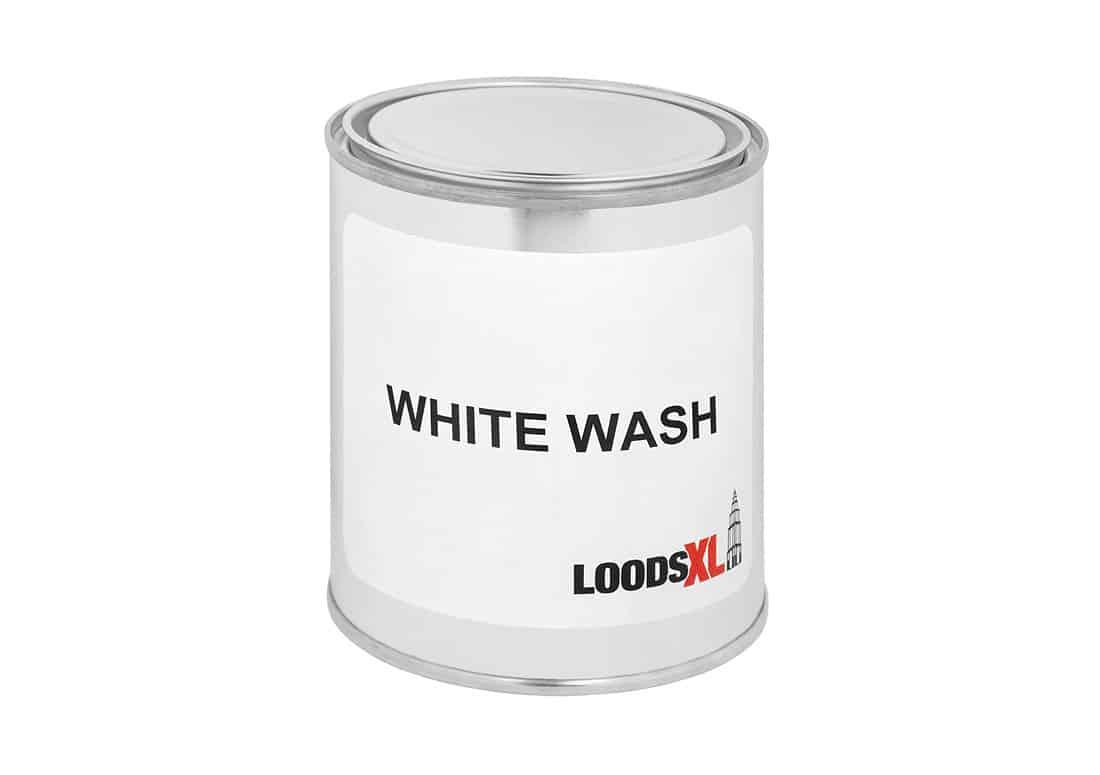 Whitewash voor steigerhouten meubelen