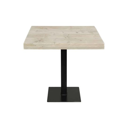 Steigerhouten tafel Nixa