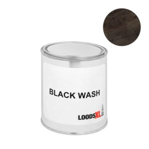 Blackwash verf beits voor steigerhouttrend