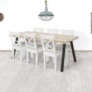 Steigerhouten tafel Froid