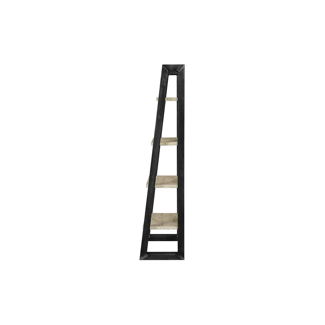 Steigerhouten Kastdecoratie Ladder Dotty