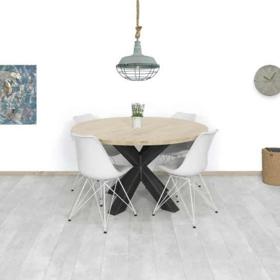 Eikenhouten tafel Jena