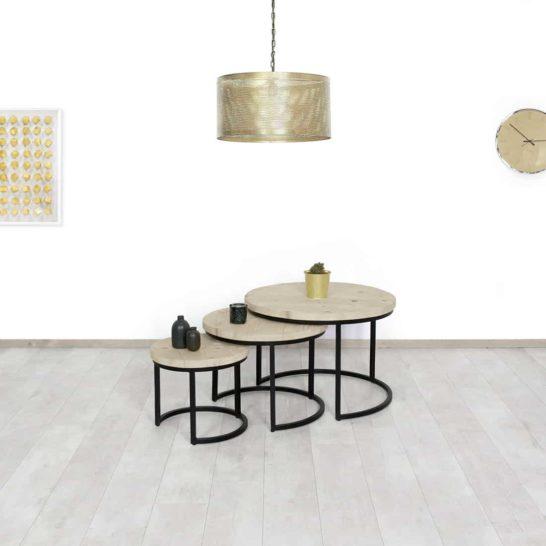 Steigerhouten salontafels Pala