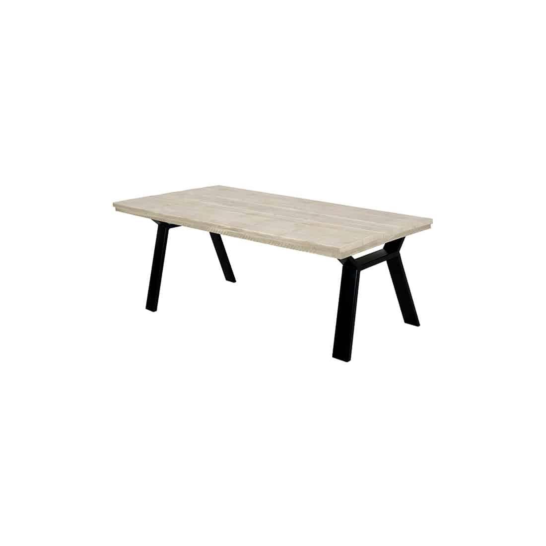 Steigerhouten tafel Dike