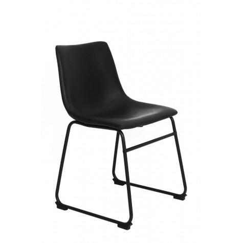Light & living stoel Jeddo - Zwart