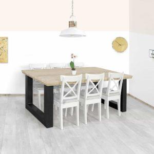 Steigerhouten tafel Vici