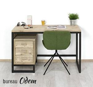 Steigerhouten industriele bureau Odem