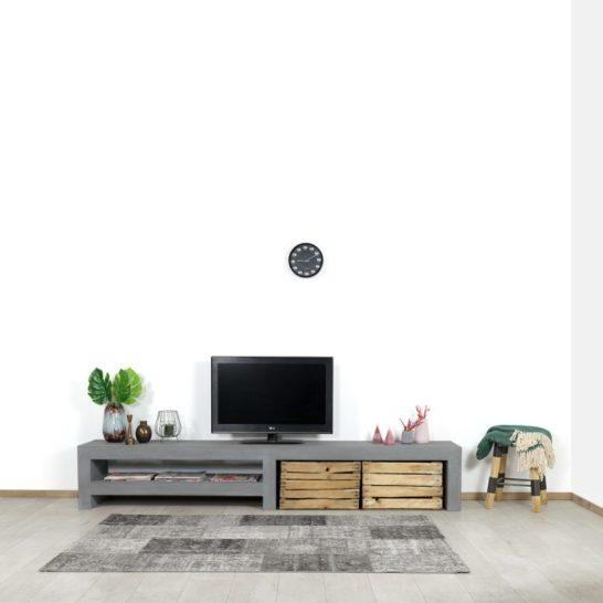 Betonlook TV meubel Denio