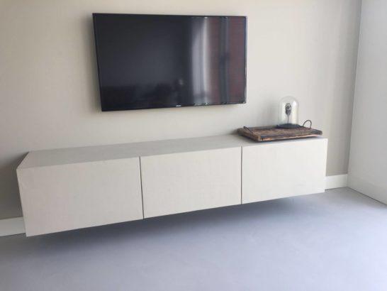 Betonlook TV meubel Lipan