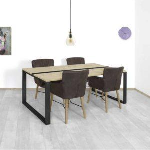 Steigerhouten tafel Cadott