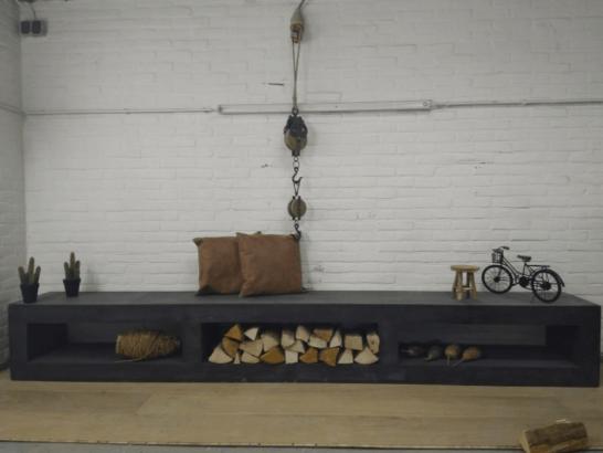 Betonlook TV meubel Bussey