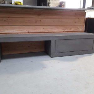 Betonlook TV meubel Rives