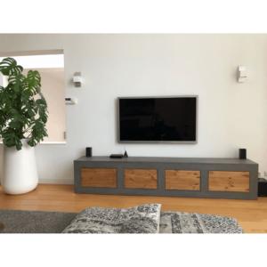 Betonlook TV meubel Roann