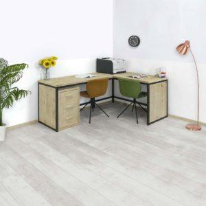 Steigerhouten bureau Minto