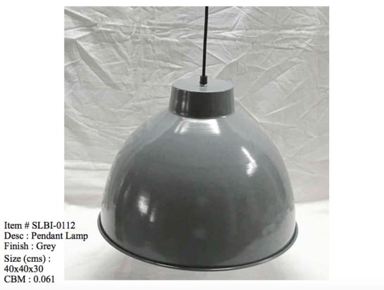 Industriele lamp - 0112