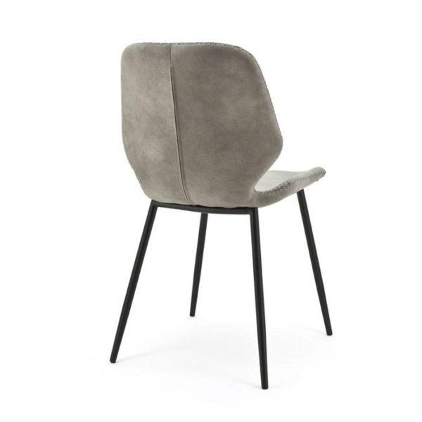 By-boo stoel Seashell - grijs