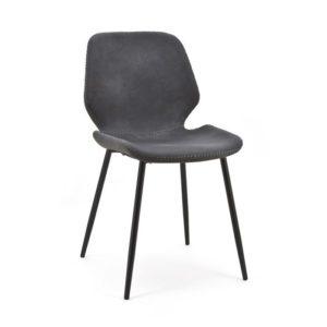 By-boo stoel Seashell - zwart