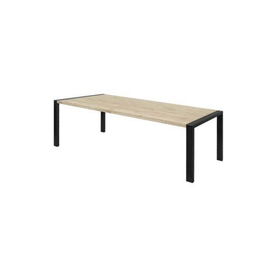 Eikenhouten tafel Novi