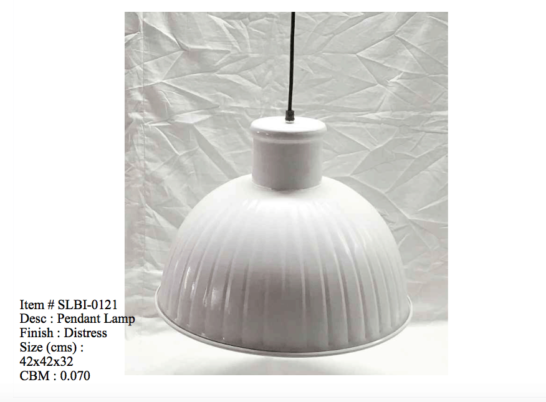 Industriele lamp 0121