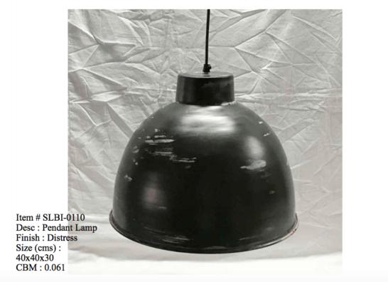 Industriele lamp - 0110