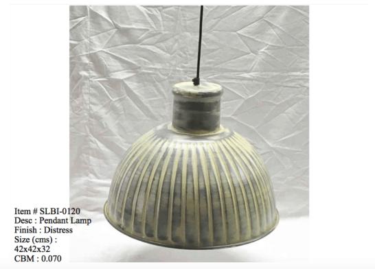 Industriele lamp 0120
