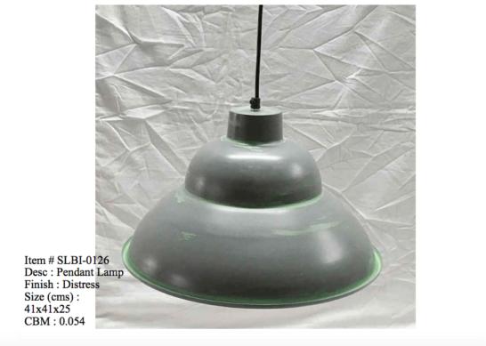 Industriele lamp 0126