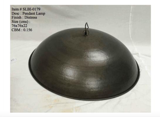 Industriele lamp 0179