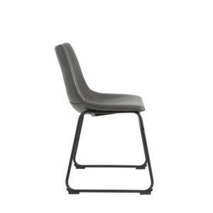 Light & living stoel Jeddo - grijs