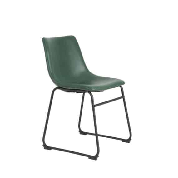 Light & living stoel Jeddo - groen